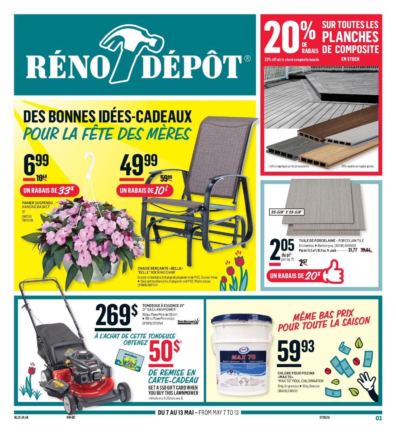 Reno Depot Weekly Flyer - Circulaire - Des Bonnes Idées-Cadeaux Pour ...