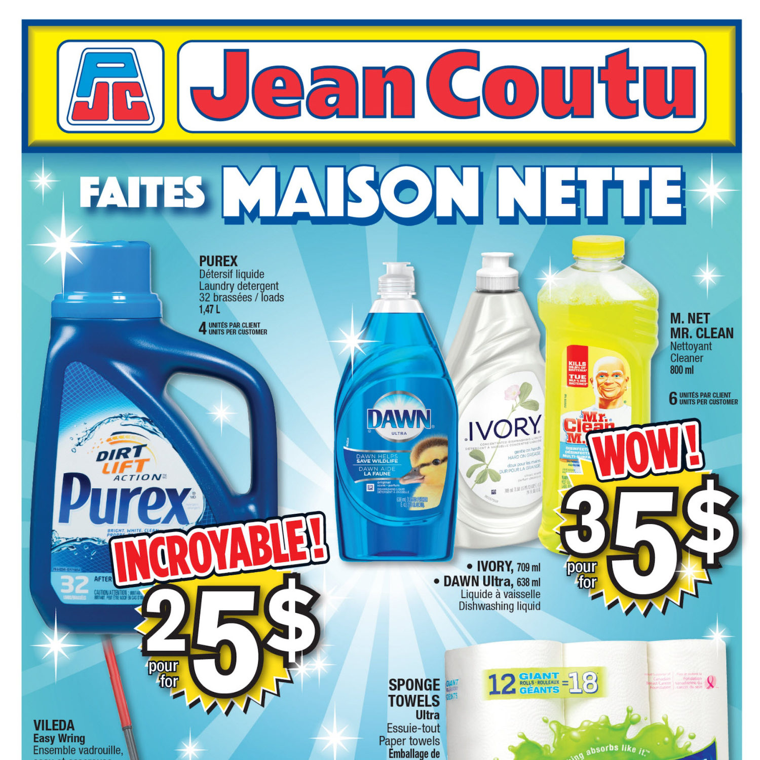 Jean Coutu Weekly Flyer Weekly Have A Clean House Apr 28 May