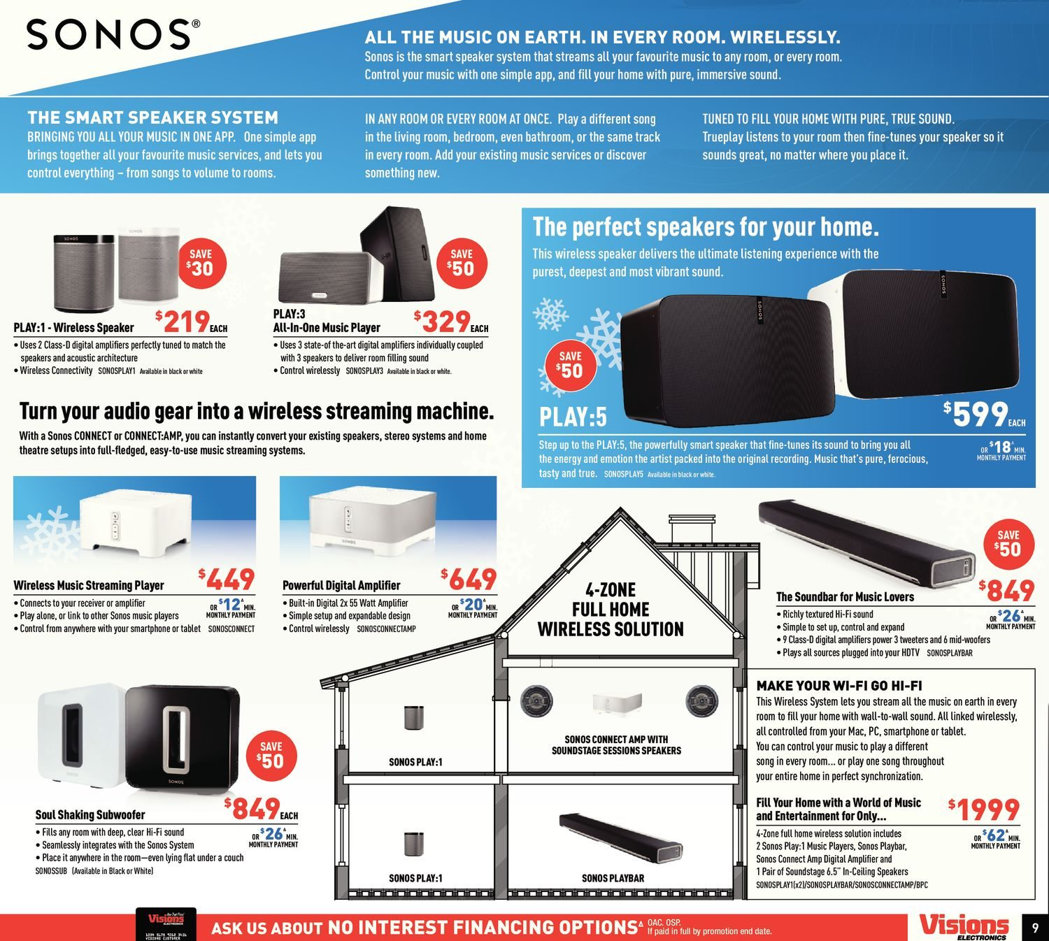 Visions Electronics Weekly Flyer - Weekly - Final Countdown! - Dec 9 ...