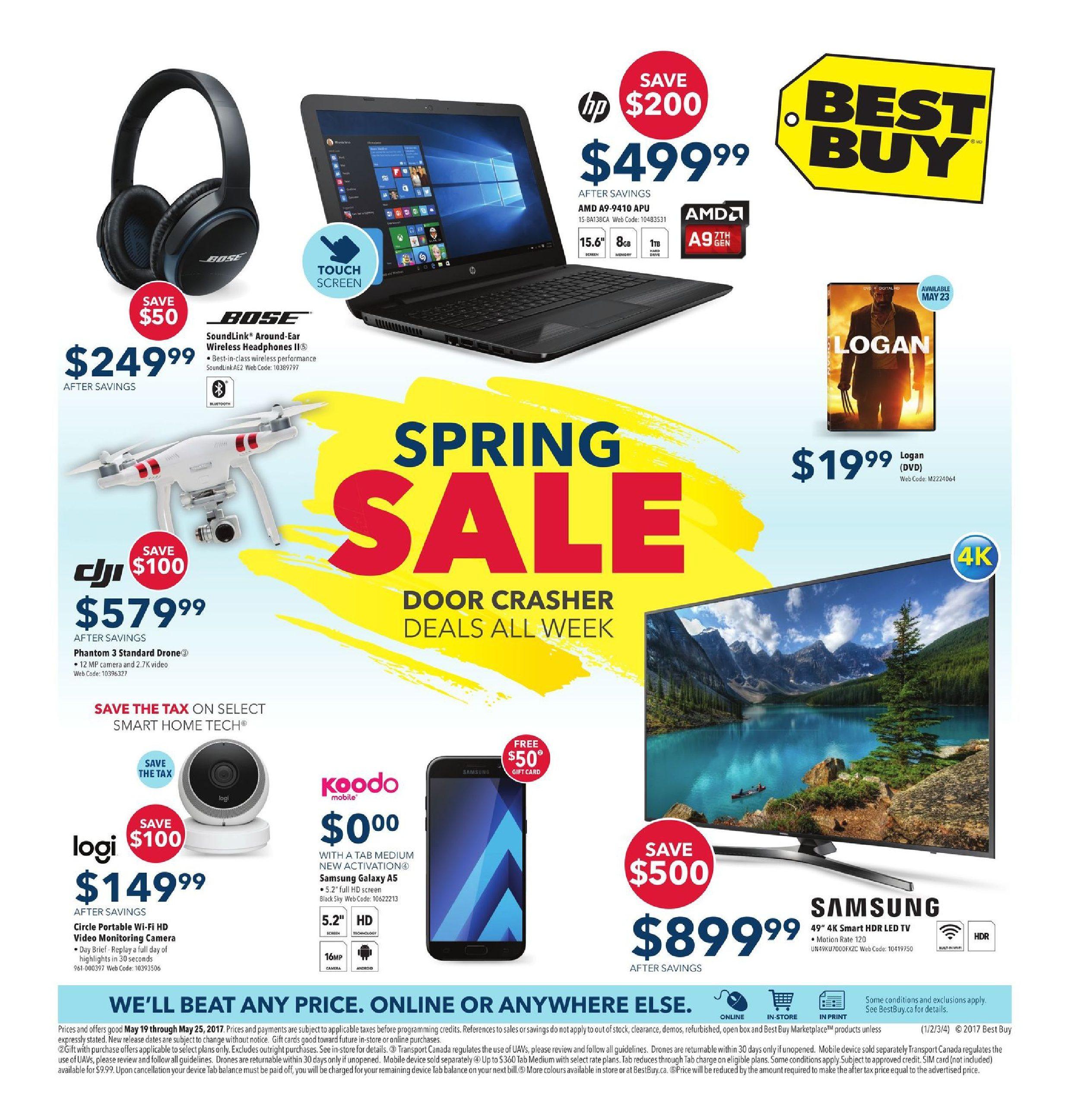 Best Buy Weekly Flyer - Weekly - Spring Sale - May 19 – 25