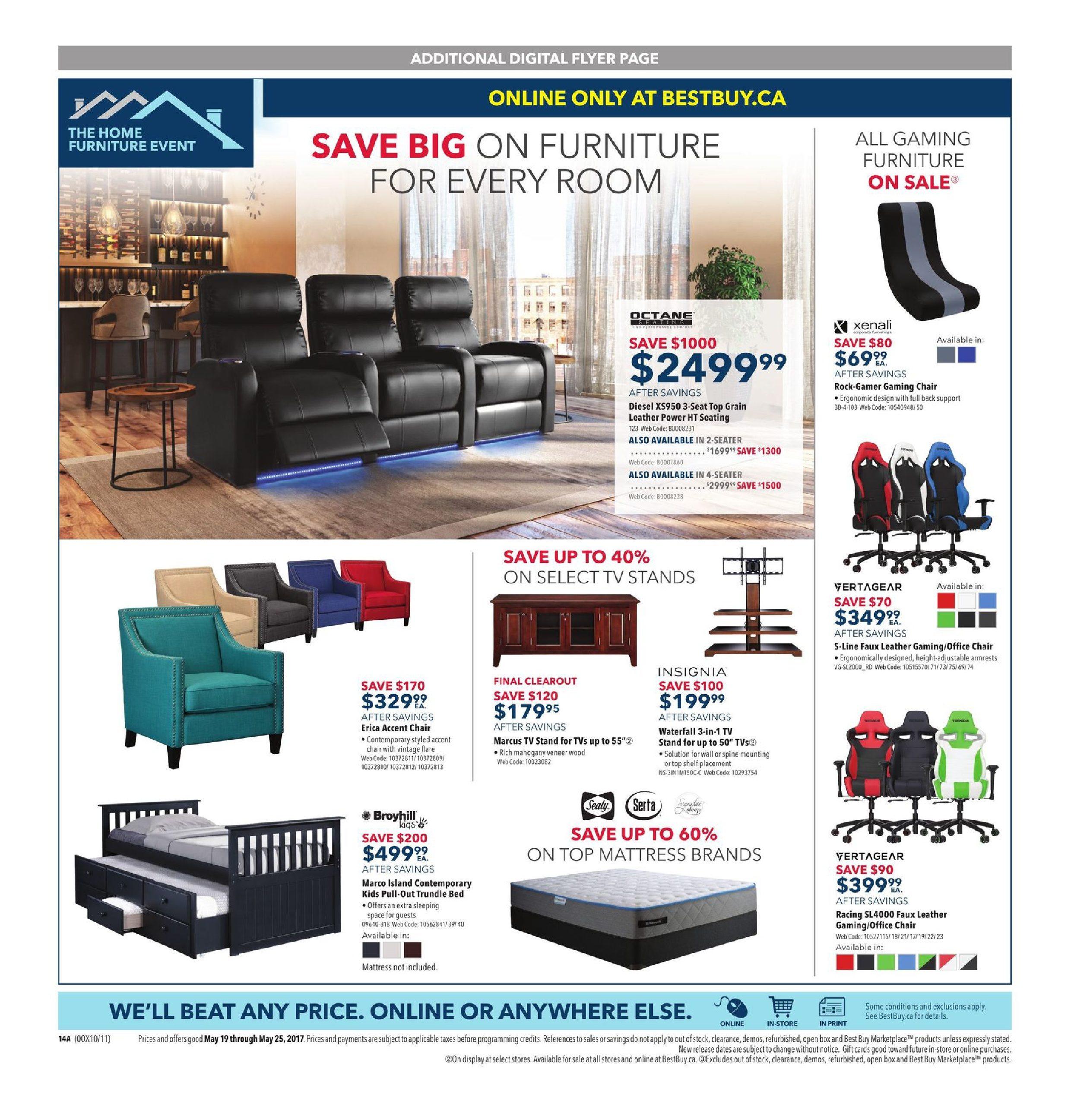 best buy weekly flyer weekly spring sale may 19 25 rh redflagdeals com