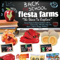 - Weekly Specials - Back to School Savings Flyer