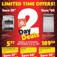 - 2 Day Deals Flyer