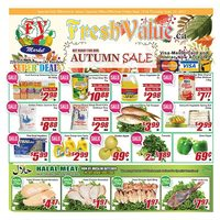 Fresh Value - Weekly Specials - Autumn Sale Flyer