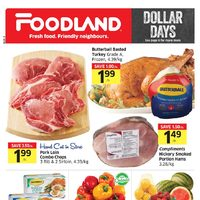 Foodland - Weekly - Dollar Days Flyer