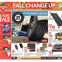 - Weekly - Fall Change Up Flyer