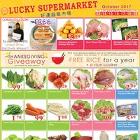 Lucky Supermarket - Weekly Specials Flyer