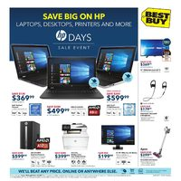 Best Buy - Weekly - HP Days Sale Event Flyer