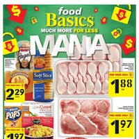 Foodbasics - Weekly - Much More For Less Mania Flyer