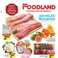 Foodland - Weekly - Create A Little Holiday Magic Flyer