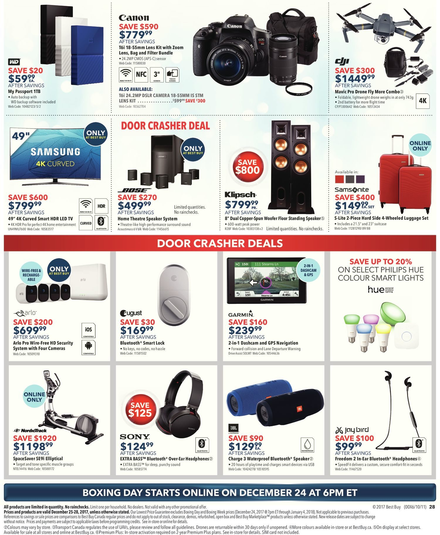 Best Buy Weekly Flyer Boxing Day Sale Dec 25 Uv Glue For Dvd Digital Camera Laserlenscircuit Board Bonding