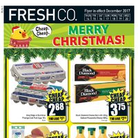 Fresh Co - Weekly Specials - Merry Christmas! Flyer