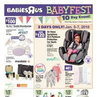 - 10 Day Event! - Babyfest Flyer