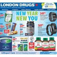 - 6 Days of Savings - New Year, New You Flyer