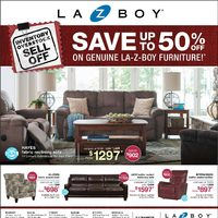 La-Z-Boy - Inventory Overstock Sell Off Flyer