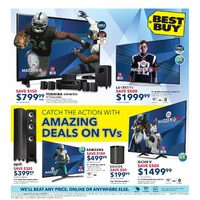 Best Buy - Weekly - Catch The Action Flyer
