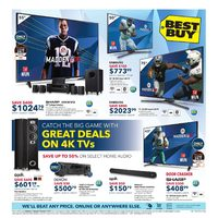 - Weekly - Great Deals on 4K TVs Flyer