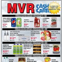 MVR Cash & Carry - Monthly Specials Flyer