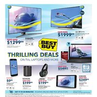 Best Buy - Weekly - Thrilling Deals Flyer