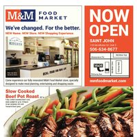 M & M Food Market - Saint John - Now Open Flyer