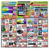 Factory Direct - Weekly - Spectacular Spring Sale! Flyer