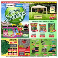 Factory Direct - Spring Savings! Flyer