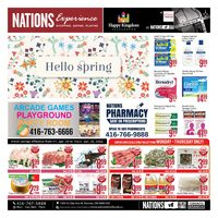 Nations Fresh Foods - Weekly Specials - Hello Spring Flyer
