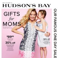 The Bay - Weekly - Gifts for Moms Flyer