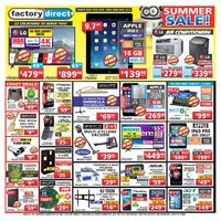 Factory Direct - Weekly - Summer Sale! Flyer