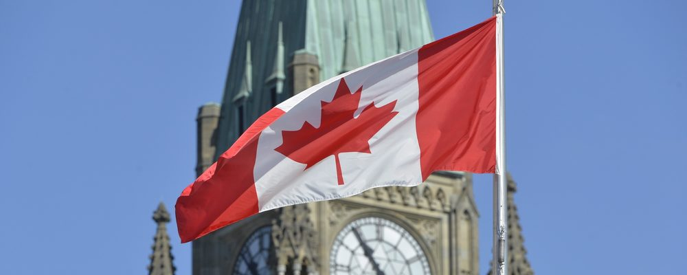How to Get a Massive Canadian Flag from Parliament Hill for Free