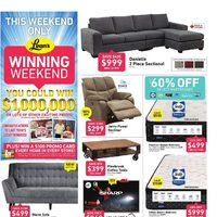 Leon's - This Weekend Only - Winning Weekend Flyer