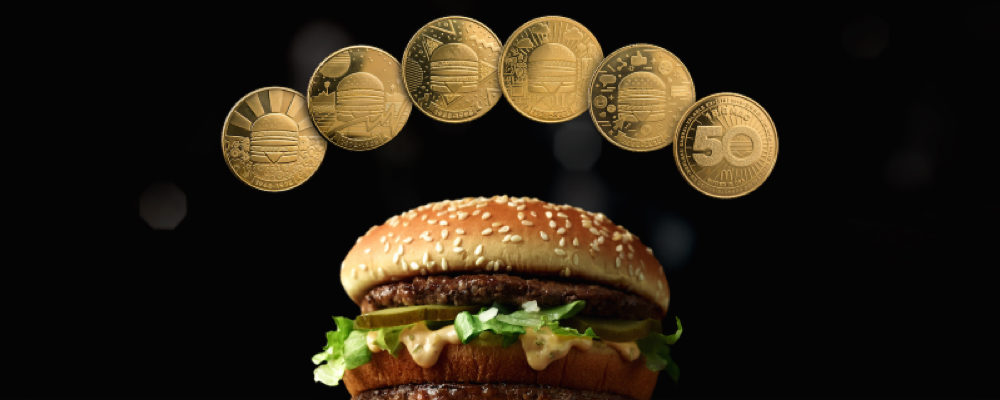 McDonald's Canada Launches MacCoin Currency to Celebrate the Big Mac's 50th Anniversary