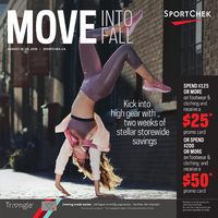 Sport Chek - Move Into Fall Flyer