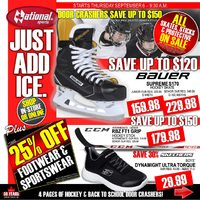 - Just Add Ice Sale Flyer