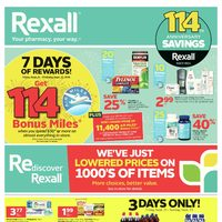 Rexall - London Only - 114th Anniversary Savings Flyer