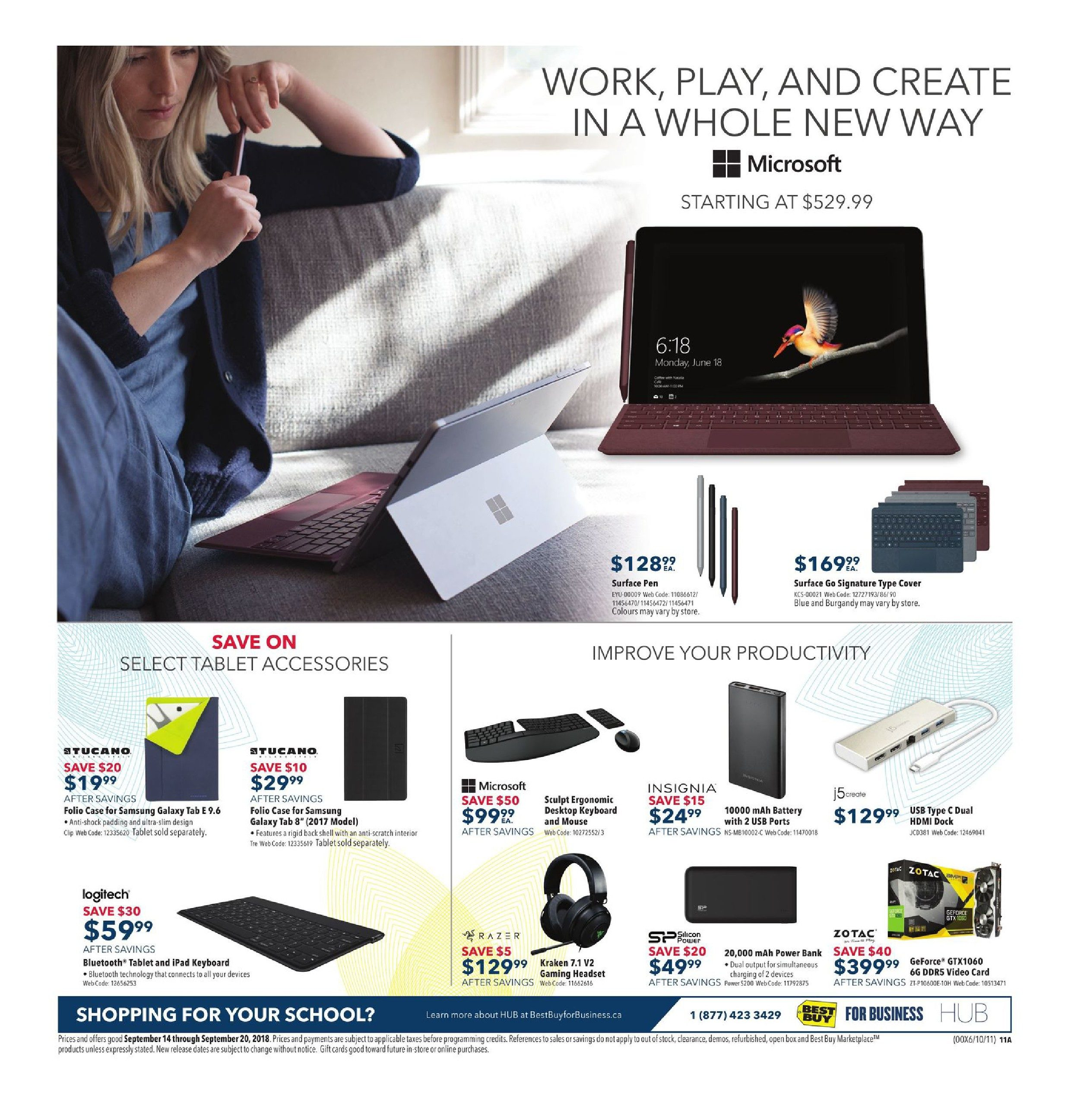 41209e7f1d0b26 Best Buy Weekly Flyer - Weekly - Bring Home Epic Savings - Sep 14 – 20 -  RedFlagDeals.com