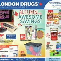 London Drugs - 6 Days of Savings - Autumn Has Awesome Savings Flyer