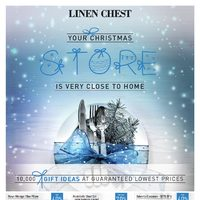 Linen Chest - Your Christmas Store Is Very Close To Home Flyer