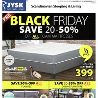 JYSK - Weekly - Pre-Black Friday Sale Flyer