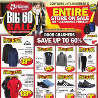 National Sports - Big 60 Sale Continues Flyer