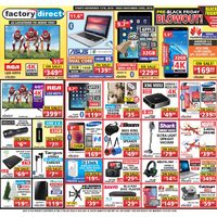 Factory Direct - Pre-Black Friday Blowout! Flyer