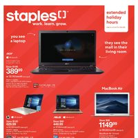 Staples - Weekly - See The Holidays Differently Flyer