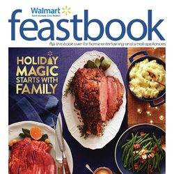 Walmart - Feastbook - Holiday Magic Starts With Family Flyer