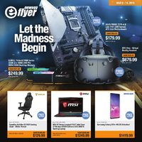 Newegg - Let The Madness Begin Flyer