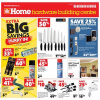 Home Hardware - Building Centre - Extra Big Savings Flyer