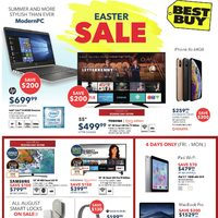 Best Buy - Weekly - Easter Sale Flyer