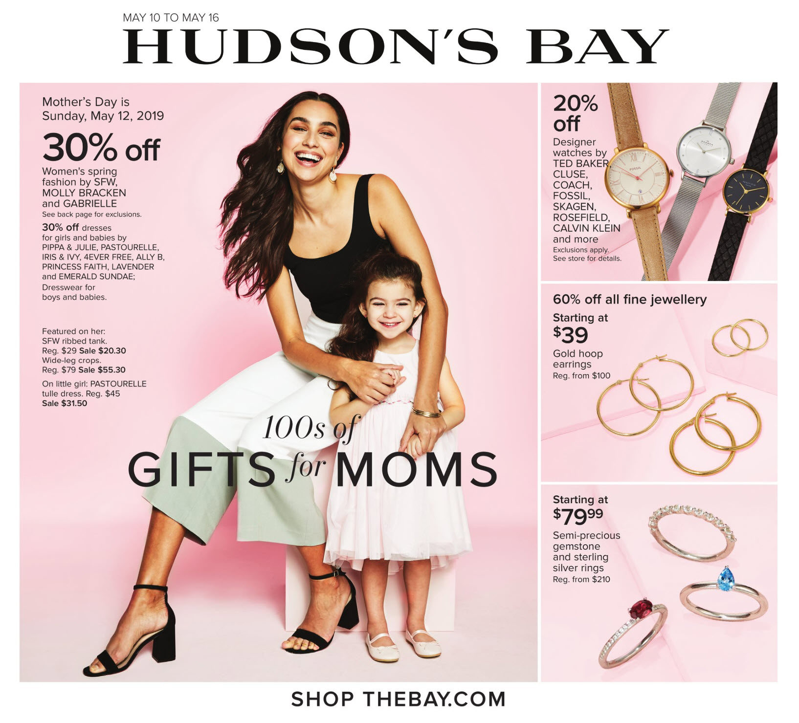 61a3fbf956a2 The Bay Weekly Flyer - Weekly - Gifts For Moms - May 10 – 16 -  RedFlagDeals.com