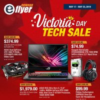 Newegg - Victoria Day Tech Sale Flyer