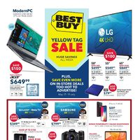 Best Buy - Weekly - Yellow Tag Sale Flyer