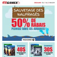 EB Games - Promotion de 7 jours Flyer